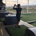 Fernando improving his swing!