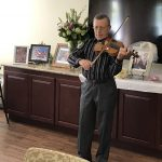 Live music is always an important part of our formal tea parties and pictured here is Yakov Stanislavskiy.
