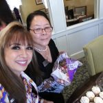 Community Life Director, Isabela Izzy Tigno brought cupcakes and party favors for the team in celebrating Rhoda Takeda, Sales Director's Birthday.
