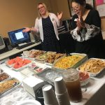 Oh yummy, everyone at Fremont Hills knows how to eat, celebrating Rhoda Takeda's Birthday with a potluck.