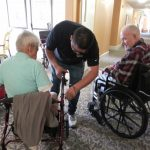 After the picnic and bingo, residents received free repairs by Haller's. Great way to end the day. Thank you Haller's for your service!