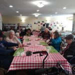 B-I-N-G-O!  Serious players in the house. Most of our residents play with three our four cards at a time. Impressive!