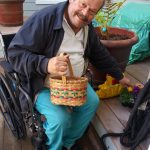 Resident Alan really enjoyed hiding the Easter eggs