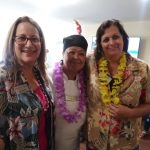 Jessica with Executive Director Joan Newman and Chef Luz