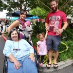 Resident Avra and her family enjoyed the beautiful weather  & browsing