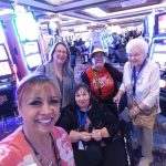 After this selfie, everyone went to their favorite slots to give luck a try!